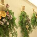 【体験レポ】おしゃれな壁飾り「クリスマススワッグ」作りに挑戦!